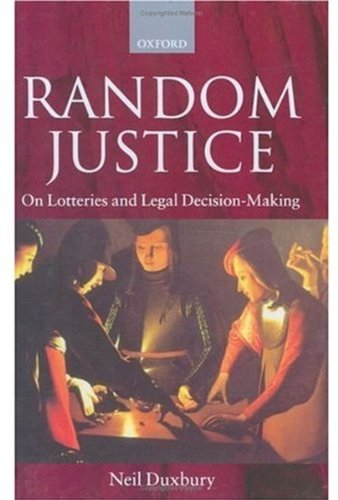 9780198268253: Random Justice: On Lotteries and Legal Decision-Making