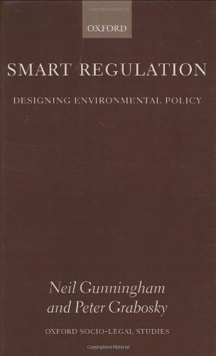 9780198268574: Smart Regulation: Designing Environmental Policy (Oxford Socio-Legal Studies)