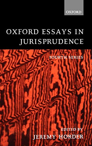 9780198268581: Oxford Essays in Jurisprudence: Fourth Series