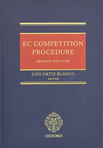 EC Competition Procedure: Jorgens, Konstantin J.,