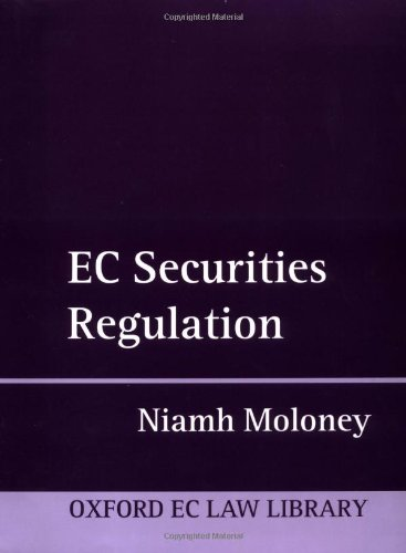 9780198268918: EC Securities Regulation (Oxford European Community Law Library)