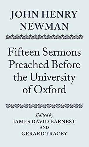 John Henry Newman: Fifteen Sermons Preached Before the University of Oxford