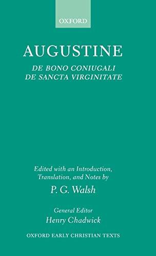 9780198269953: De Bono Coniugali and De Sancta Virginitate