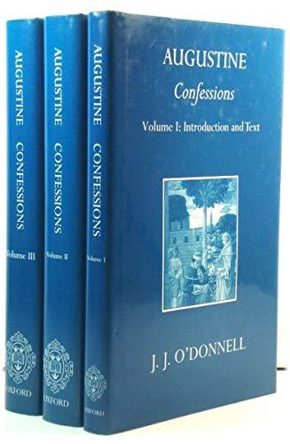 9780198270256: Confessions [Three Volume Set]
