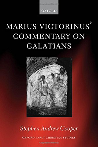 9780198270270: Marius Victorinus' Commentary on Galatians (Oxford Early Christian Studies)