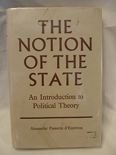 9780198271611: Notion of the State