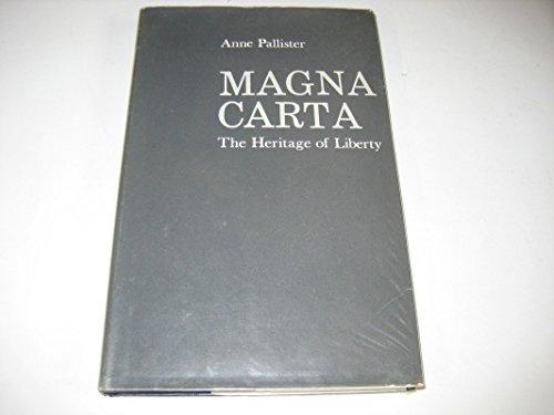 9780198271819: Magna Carta: The Heritage of Liberty