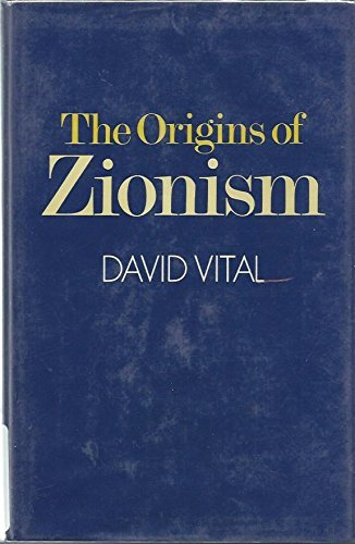 9780198271949: Origins of Zionism