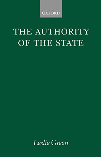 9780198273134: The Authority of the State (Clarendon Paperbacks)