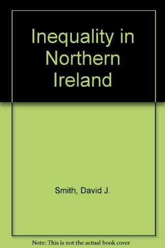 9780198275541: Inequality in Northern Ireland