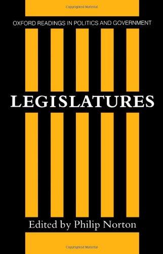 9780198275817: Legislatures (Oxford Readings in Politics and Government)