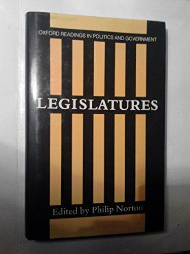 9780198275824: Legislatures (Oxford Readings in Politics and Government)