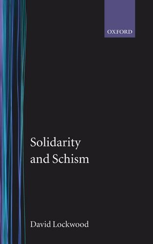 9780198277170: Solidarity and Schism: