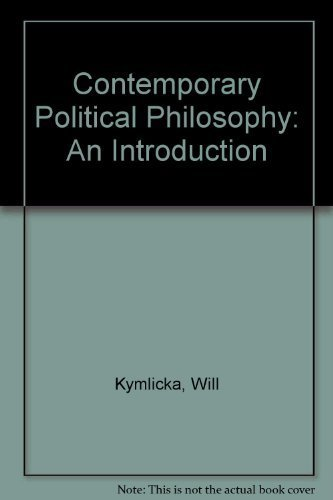 9780198277248: Contemporary Political Philosophy: An Introduction