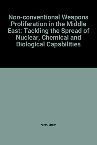9780198277682: Non-Conventional-Weapons Proliferation in the Middle East: Tackling the Spread of Nuclear, Chemical, and Biological Capabilities