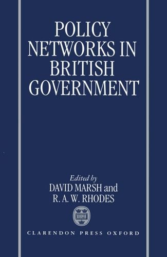 9780198278528: Policy Networks in British Government