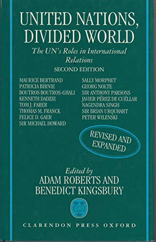 9780198279068: United Nations, Divided World: The UN's Roles in International Relations