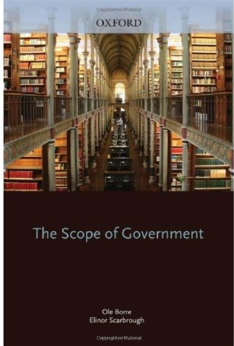 9780198279549: The Scope of Government (Beliefs in Government)
