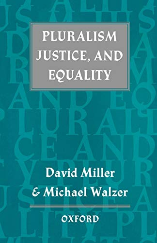 9780198280088: Pluralism, Justice, and Equality