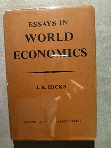 9780198281337: Essay in World Economics