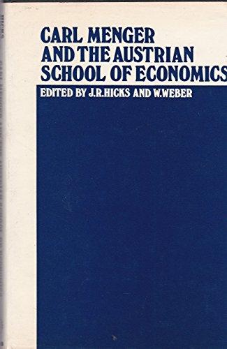 9780198281818: Carl Menger and the Austrian School of Economics
