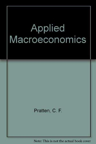 9780198283317: Applied Macroeconomics