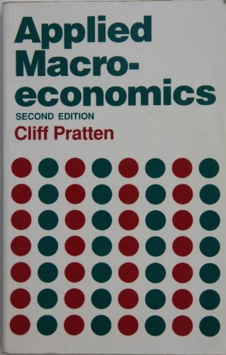 9780198283324: Applied Macroeconomics