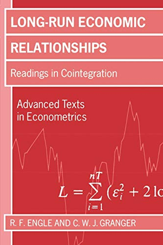 9780198283393: Long-Run Economic Relationships: Readings in Cointegration (Advanced Texts in Econometrics)