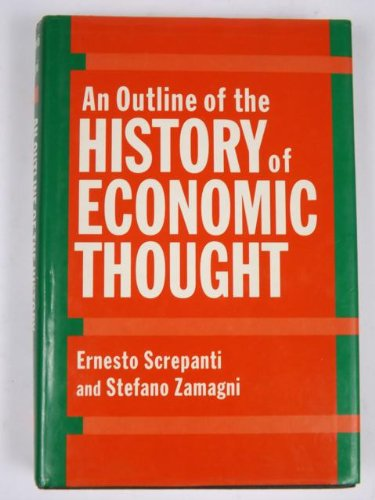 9780198283706: An Outline of the History of Economic Thought