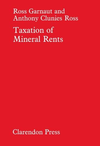 9780198284543: Taxation of Mineral Rents