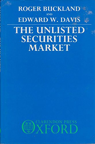 The Unlisted Securities Market: Roger Buckland, Edward