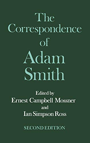 9780198285700: 6: The Correspondence of Adam Smith (Glasgow Edition of the Works of Adam Smith)