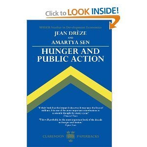 9780198286349: Hunger and Public Action (Wider Studies in Development Economics)