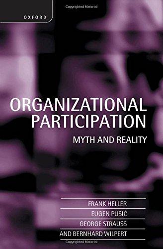 9780198288510: Organizational Participation: Myth and Reality