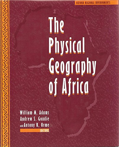 9780198288756: The Physical Geography of Africa (Oxford Regional Environments)