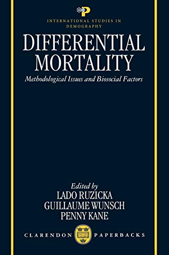 Differential Mortality: Methodological Issues and Biosocial Factors: Oxford University Press,