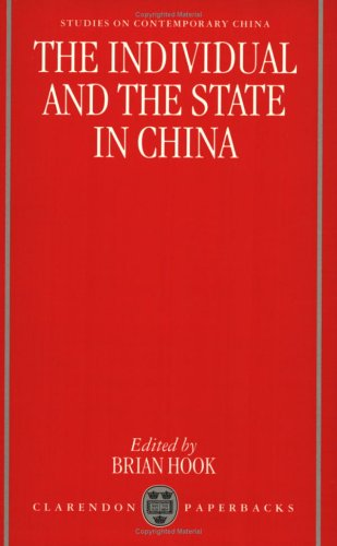 9780198289319: The Individual and the State in China (Studies on Contemporary China)