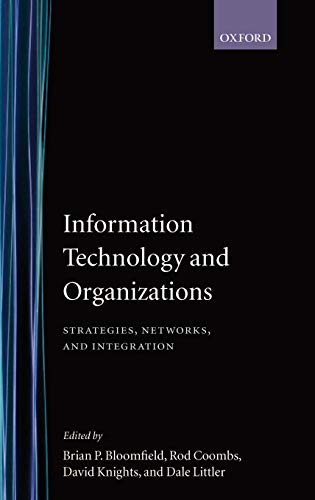 9780198289395: Information Technology and Organizations: Strategies, Networks, and Integration
