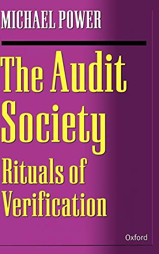 9780198289470: The Audit Society: Rituals of Verification