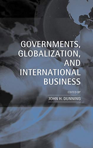 9780198290681: Governments, Globalization, and International Business