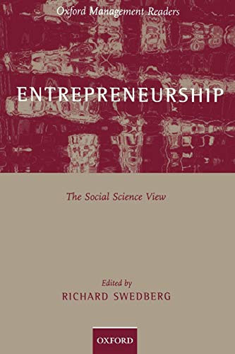 9780198294610: Entrepreneurship: The Social Science View (Oxford Management Readers)
