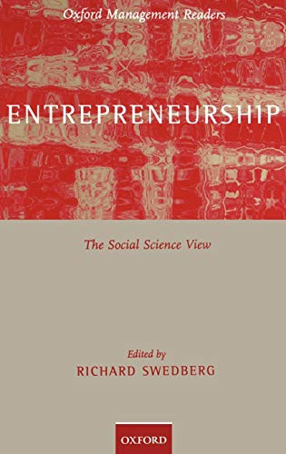 9780198294627: Entrepreneurship: The Social Science View (Oxford Management Readers)