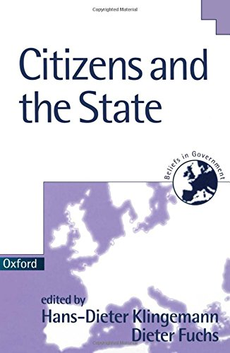 9780198294733: Citizens and the State (Beliefs in Government)