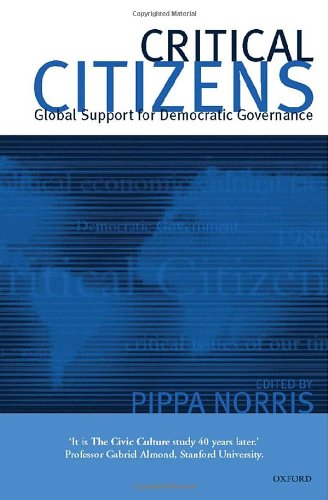9780198294795: Critical Citizens: Global Support for Democratic Governance