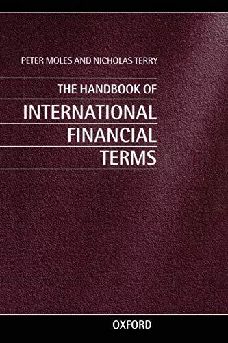 9780198294818: The Handbook of International Financial Terms