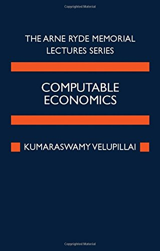 9780198295273: Computable Economics: The Arne Ryde Memorial Lectures
