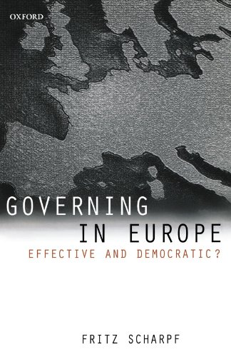9780198295464: Governing in Europe: Effective and Democratic?