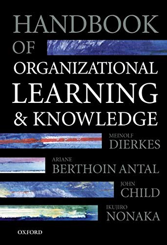 9780198295822: Handbook of Organizational Learning and Knowledge