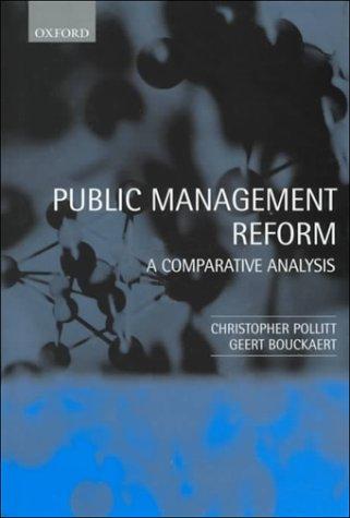 9780198295969: Public Management Reform: A Comparative Analysis