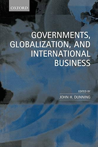 9780198296058: Governments, Globalization, and International Business
